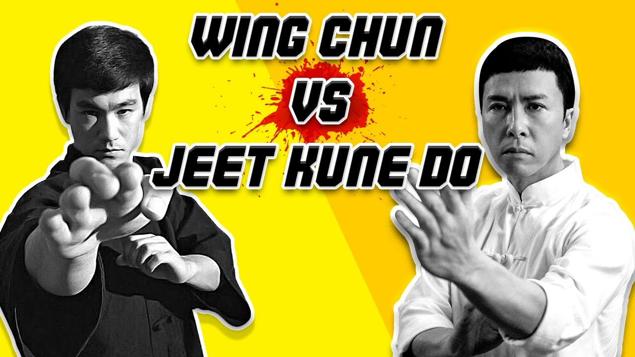Bruce Lee's Wing Chun vs Ip Man vs Jeet Kune DO