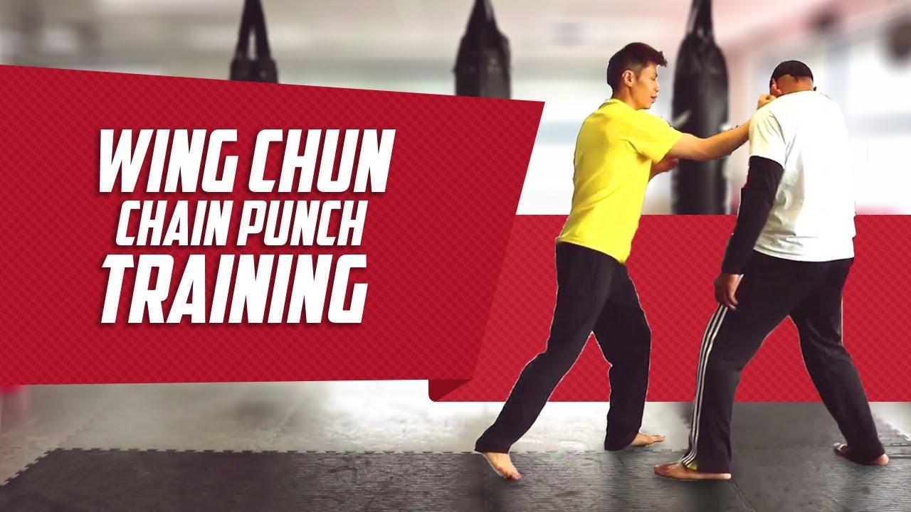 Wing Chun Chain Punch Fast Drill
